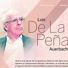 Luis de la Peña, en Gaceta UNAM