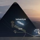 Con muones, descubren 'gran vacío' en pirámide de Keops