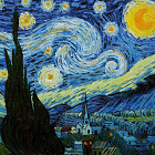"""Confirman efecto de turbulencia en """"La Noche Estrellada"""" de Van Gogh"""