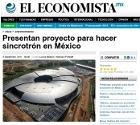 Presentan proyecto para hacer sincrotrón en México