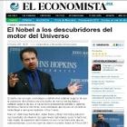 El Nobel a los descubridores del motor del Universo